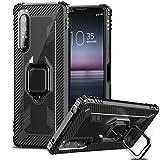 IMBZBK Compatible with Sony Xperia 1 II Case, [360 Degree