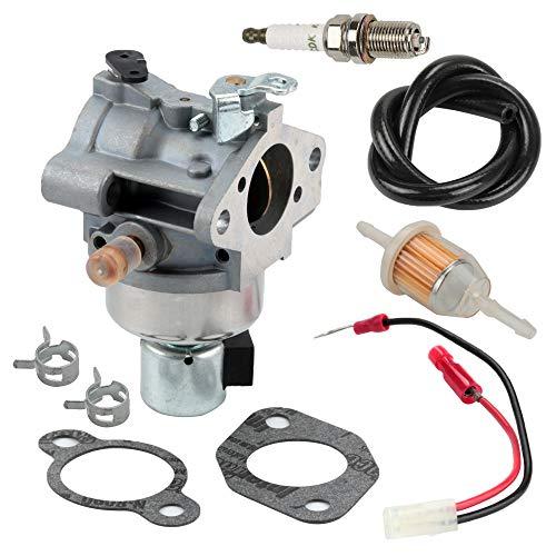 Harbot 20 853 35-S Carburetor for Kohler 20-853-35-S 20 853 44-S 20 853 21-S SV540 SV590 SV600 SV610 SV620 18HP 19HP 20HP 21HP 22HP Engines with Fuel Filter Line