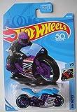 Hot Wheels Moto 1/5, Blue/Purple Street Stealth 283/365 50TH Anniversary Card
