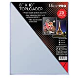 Ultra Pro Clear Toploader 8-Inches x 10-Inches (25-Count)