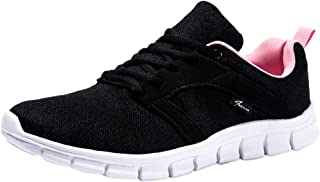 Qootent Women Athletic Sneakers Outdoor Training Shoes Running Sport Fitness