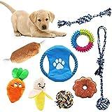 AWIIK - Juguetes para Perros Cachorros, pequeños y medianos. Pack de 9 Juguetes de...