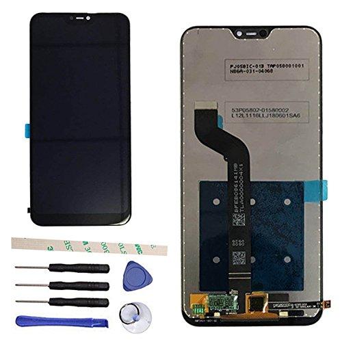 Draxlgon Display LCD per Xiaomi Mi A2 Lite/Xiaomi Redmi 6 PRO/Redmi 6Pro / M1805D1SE M1805D1SG 5.84',Schermo LCD e Gruppo Sostituzione digitalizzatore Touch Screen(Nero