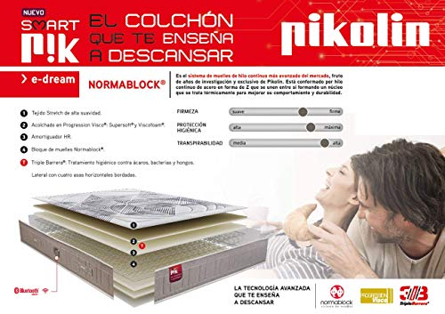 Colchón inteligente e-Dream de Pikolin - 4