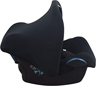 JANABEBÉ Universal Hood Canopy for Baby Carriers and Group 0 Chairs (Black Series)