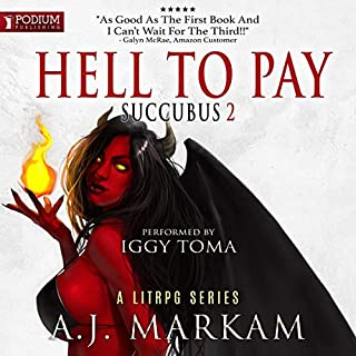 Hell to Pay     Succubus, Book 2              Auteur(s):                                                                                                                                 A.J. Markam                               Narrateur(s):                                                                                                                                 Iggy Toma                      Durée: 8 h et 45 min     12 évaluations     Au global 4,3