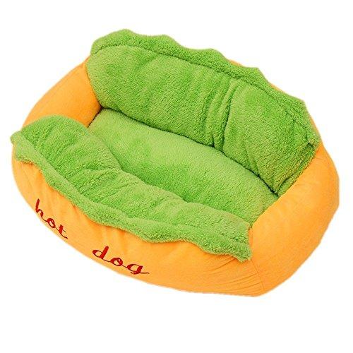 duojin Haustier-waschbare Kissen-Sofa-Hotdog-Welpen-Matten-Haustier-Betten