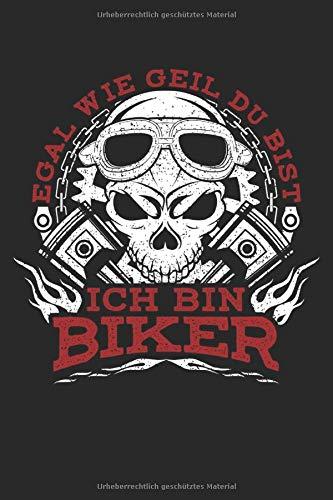 Biker = Geil: Notizbuch für Motorradfahrer Motorrad-Fahren Biker-Girl