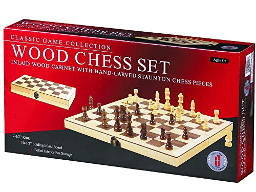 John N. Hansen Classic Game Collection Wood Chess Set