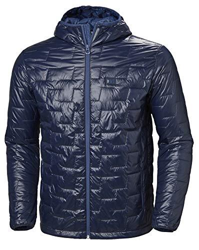 Helly Hansen Lifaloft Hooded Insulator Jacket Chaqueta con Capucha, Hombre, Azul (Navy), S