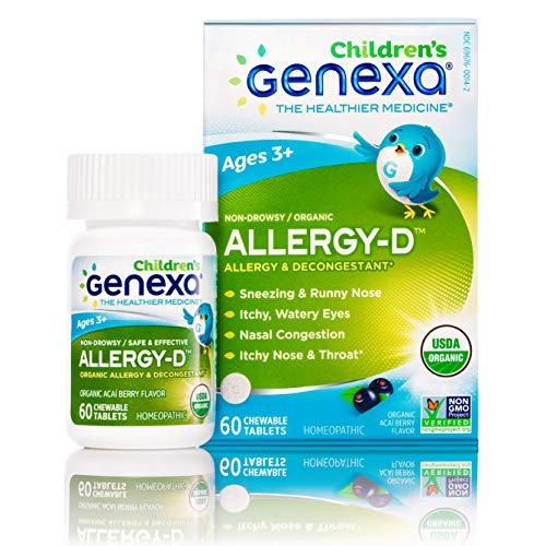 Genexa Allergy-D for Children – 60 Tablets | Certified...