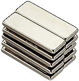first2magnets F2582-N52-10 - Imán de neodimio (10 unidades, 25 x 8 x 2 mm, N52, 3 kg de fuerza de sujeción)