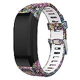SUPORE Vivosmart HR Bracelet, Accessoires réglable Silicone Souple Bracelet de Montre de...