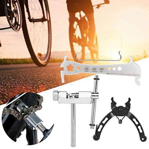 Okuyonic Cortador Herramienta de reparación de Bicicletas Alicates de Cadena de tracción Herramienta de Cadena de Bicicleta para Bicicleta de Carretera de montaña