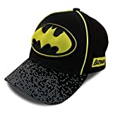 DC Comics Kids Baseball Cap for Boys Ages 2-7, Batman, Superman, Justice League 3D POP Little Kids and Toddler...