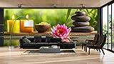 Fotomural Vinilo Pared Zen SPA | Fotomurales | Fotomural Pared | Fotomural Decorativo | Vinilo Decorativo | Varias Medidas 150 x 100 cm | Decoración comedores, Salones | Diseño Elegante