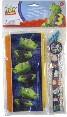 Disney Pixar Toy Story étude Kit 4 pièces-Toy Story-Fourniture Scolaire-Lot de 2