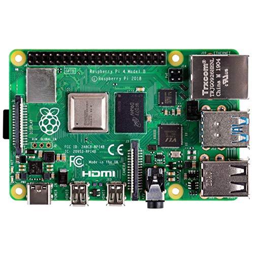 FHJZXDGHNXFGH Raspberry Pi 4 Modello B con 1/2 / 4GB RAM BCM2711 Quad Core Cortex-A72 Arm v8 1.5GHz Supporto 2.4/5.0 GHz WiFi BT 5.0