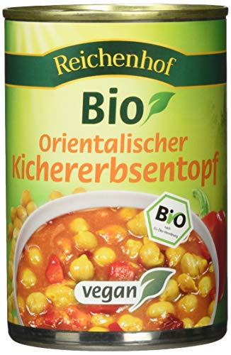 Reichenhof Bio Orientalischer Kichererbsentopf vegan, 6er Pack (6 x 400 g)
