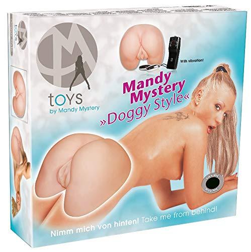 Masturbatore Vagina e Ano realistica Mandy Mystery Doggy Style
