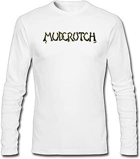 Hefeihe DIY Mudcrutch Band Logo Men's Long-Sleeve Fashion Casual Cotton T-Shirt