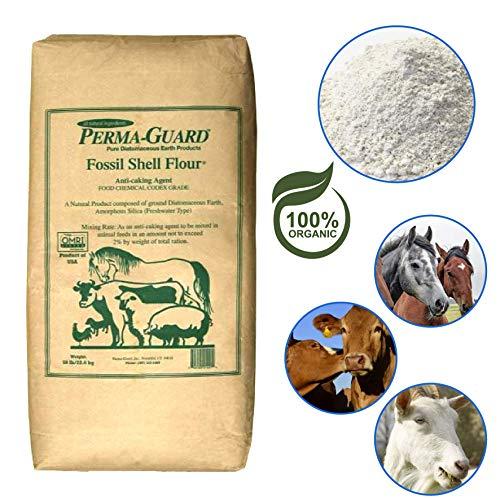 EasyGoProducts EGP-DE-50A Perma-Guard Diatomaceous Earth-DE Food Grade – 100% Organic – OMRI Or, Clear