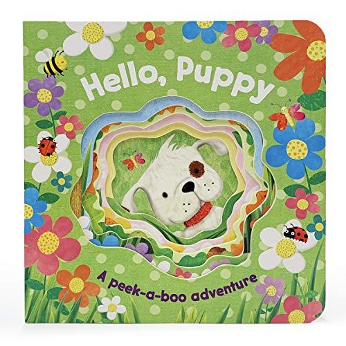 Hello, Puppy (Peek-a-Books) (Peek-A-Boo Books)