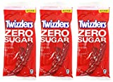 Twizzlers Sugar-Free Strawberry Twists - 5 Ounce, Pack of 3