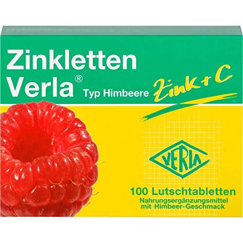 Magnesium Verla 09704814 Zinkletten Himbeere 100 St.