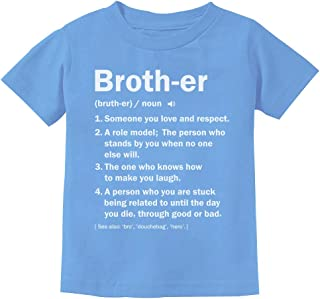 Brother Definition Funny Big Brother Gift Idea Youth Kids T-Shirt