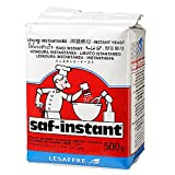 Levadura seca de panadero 500g Saf Instant.