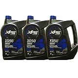 Johnson Evinrude/OMC XPS Marine XD50 Oil Gallon 3 Pack 779718, 0764354, 0779718