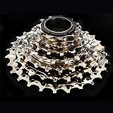 xiegons0 - Herramienta de repuesto para rueda de bicicleta 11-28T, resistente al óxido, piezas de volante de inercia de 7 velocidades, con placa de níquel para Shimano