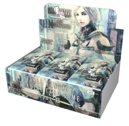 Square Enix Final Fantasy Crystal Awakening TCG Opus XII Collection Booster Box - 36 Packs