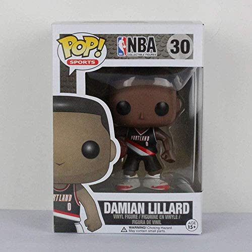 LiQi Funko Pop NBA Basketball Star Adornos Muñeca-Damien Lillard # 30