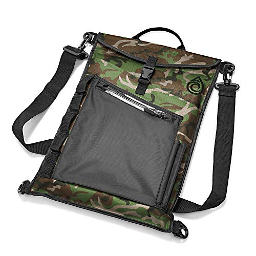 Aqua Quest Typhoon Laptop Sleeve - 100% Waterproof, Lightweight, Durable, Padded Case - Protective Computer Pouch Cover Bag - 15 inch - Camo