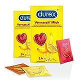 Durex Mange-moi Lot de 2 boîtes de 14 préservatifs