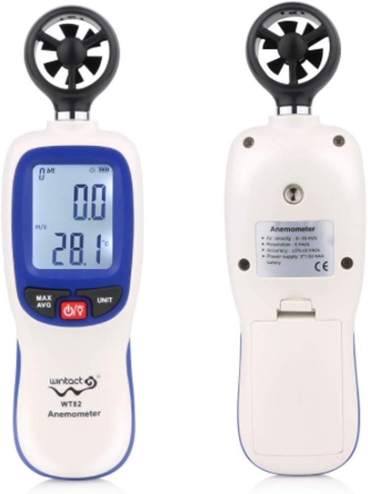 Digital depot Anemometer Colorado Springs Mall Wind Speed Handheld LCD Wi