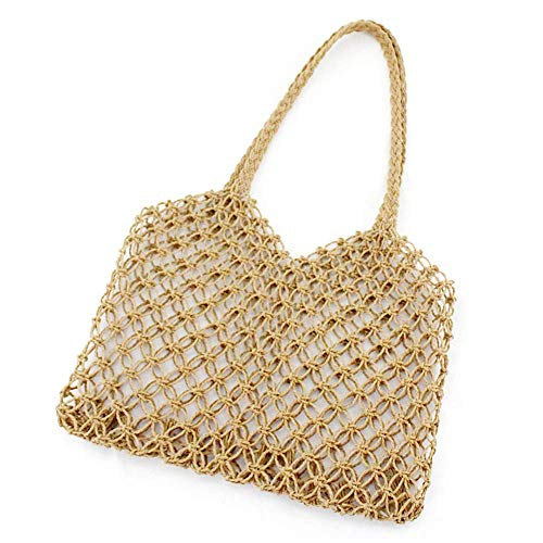 Large Womens Tote Bag,summer Straw Beach Bag, Woven Shoulder Bags,hollow Out Handbags, Boho Beach Holiday Bags
