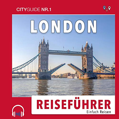 Page de couverture de Reiseführer London: Einfach Reisen 2019/20 [Guide to London: Easy Travel 2019/20]