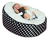 MamaBabaBebe Pre-Filled Baby Children Bean Bag with Adjustable Safety Harness & 2 Removable Covers