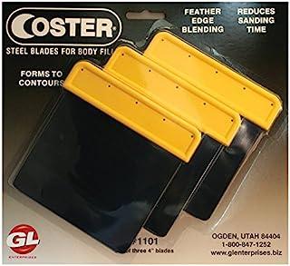 "Coster Steel Auto Body Spreaders, 3 Steel Spreaders - 4"""