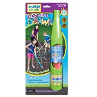 Walkie Chalk Stand-Up Sidewalk Chalk Holder - Lime - Outdoor Toy for Girls, Boys and Adults!