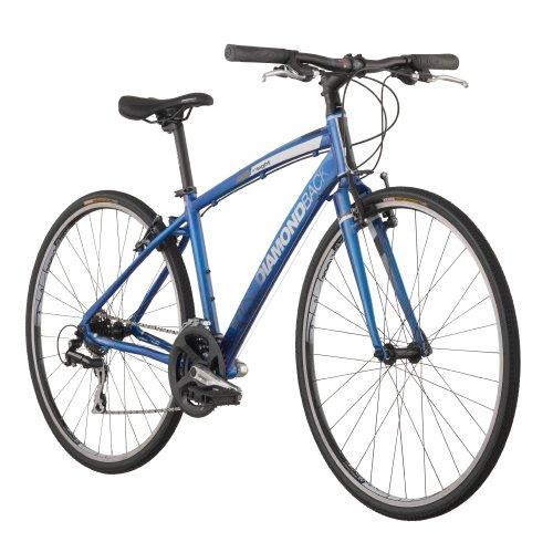 Diamondback 2013 Insight 2 Performance Hybrid Bike with 700c Wheels (Blue, 19-Inch/Large)