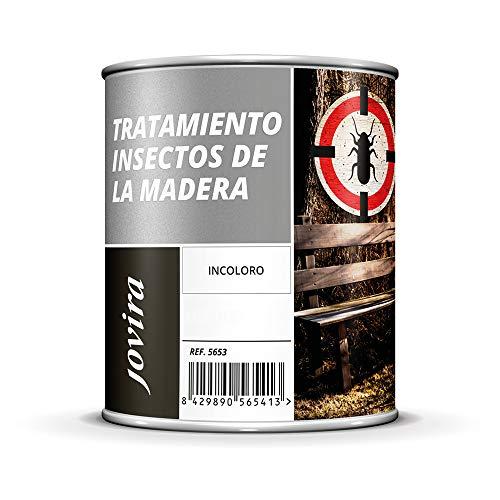 MATACARCOMA anti-carcoma, Tratamiento para insectos de la madera (Mata carcoma, Anti carcoma) (750 ml)