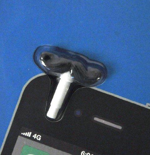 Mustache Phoney Phone Jack Plug