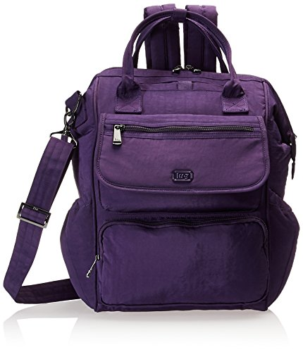 Lug Women's via Backpack Travel Tote, Concord Purple, One Size
