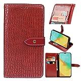 BELLA BEAR Handyhülle Kompatibel mit Oppo Reno4 Pro 5G Hülle Premium Leder Flip Schutzhülle Tasche Hülle Brieftasche Etui Hülle für Oppo Reno4 Pro 5G(Rot)