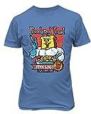 RIVEBELLA New Graphic Powdered Toast Crunch with Free Log Novelty Tee Ren Stimpy Men's T-Shirt (Carolina, L)