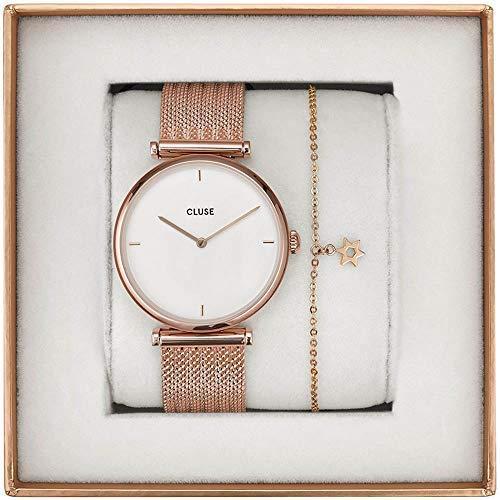 Cluse Triomphe Reloj de Mujer Cuarzo 33mm Correa de Acero CG0108208001
